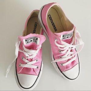 Pink converse size 6